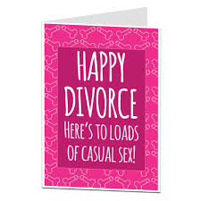 congratulations on your divorce card rude congratulations on your divorce card