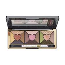 love palette eye shadow collection too faced