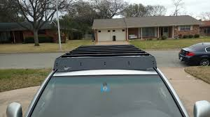 nissan frontier roof rack prinsu roof rack on a 4th gen 4rrunner toyota off road