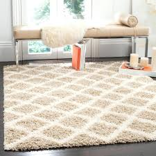 6 Square Area Rug Dallas Shag Beige Ivory 6 Ft X 6 Ft Square Area Rug 6 X 6 Square