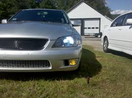 lexus is200 performance hid bulb performance in projector vs reflector headlights best