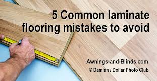 Cheap Wood Laminate Flooring 5 Common Laminate Flooring Mistakes Floating Floor Problems