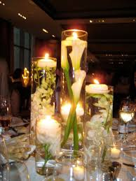 create beautiful and fresh centerpiece with cylinder vases home