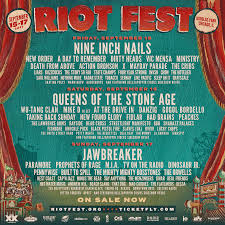 riot fest ticket giveaway easy bar
