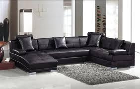 Modern Leather Sectional Sofas Divani Casa 3334 Modern Leather Sectional Sofa