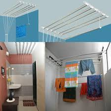 Wall Mounted Cloth Dryer Dress Hanger Stand Chennai Hanger Inspirations Decoration