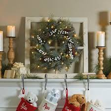 improvements indoor outdoor lighted christmas garland brilliant bright pre lit christmas wreath improvements