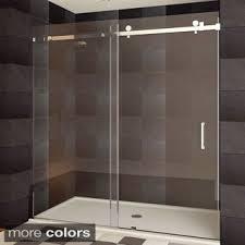Showers Door Dreamline Enigma X 56 To 60 In Fully Frameless Sliding Shower
