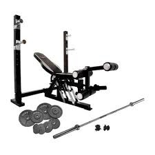 Weight Bench With Barbell Set Bruce Lee Dragon Olympic Weight Bench And 140kg Cast Iron Barbell