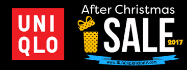uniqlo after sale 2017 black friday 2017