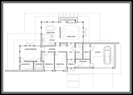 Bar Floor Plans by Home Design Single Story Modern House Floor Plans Craftsman