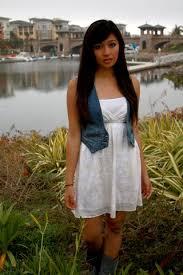 hayle c h u0026m denim vest white cream floral dress suede gray