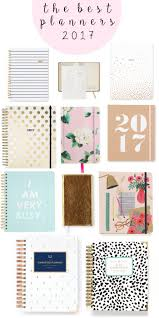 the best planners for 2017 2017 planner
