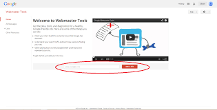 google webmaster tools account setup ownership verification