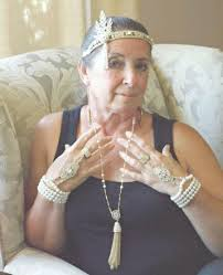 gatsby headband the great gatsby headpiece bracelet ring necklace set gold gatsby