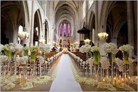 wedding decorations for church wedding ceremony decoration ideas with 50 stunning wedding aisle