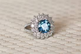 rings colored stones images Colored engagement rings inside weddings JPG