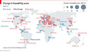 Where Is Paris In World Map by Global Liveability Has Improved For The First Time In A Decade