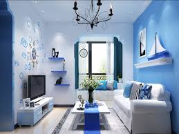 awesome blue color living room designs contemporary awesome