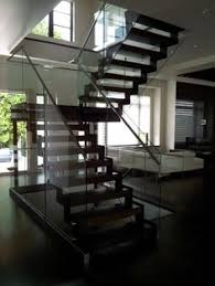 Quarter Turn Stairs Design Quarter Turn Staircase With A Central Stringer Metal Frame And