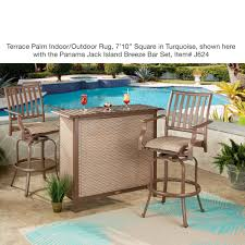 Pool Rugs Terrace Palm Tropical Indoor Outdoor Rugs By Liora Manne