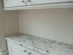 Subway Tile Backsplashes For Kitchens Interior Subway Tile Backsplash Off White Cabis Amazing Beveled