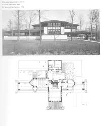 house thaxter house plans of frank lloyd wright thaxter free