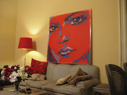sensual popart women u0027s portraits original real paintings of
