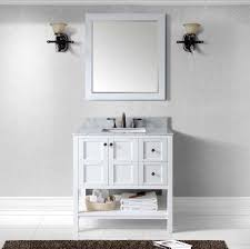 virtu usa winterfell 36 single bathroom vanity in white with