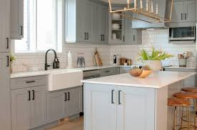 white kitchen cabinets or gray are grey kitchen cabinets better than white warline