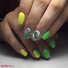 green nail design u2013 nail art designs