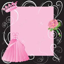 la quinceanera marriage or sweet sixteen invitation royalty