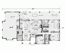 Home Plans Ranch Style One Story House Plans With Open Floor Plans Design Basics Inside