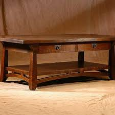 Craftsman Coffee Table Mission Coffee Tables Craftsman Arts And Crafts Stickley Style