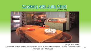 Julia Child S Kitchen by Famous Chefs And Entrepreneurs In The Food Industry Culinary Arts