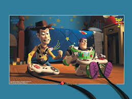 buzz lightyear flying in space wallpaper buzz lightyear and woody toys