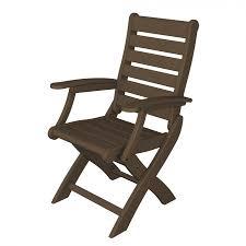Folding Dining Chairs Polywood 9 Piece Signature Rectangular Dining Set