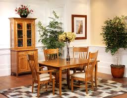 Amish Dining Room Sets by English Shaker Dining Room Amish Furniture Designed English
