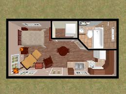 300 Sq Ft Apartment Detached Bedroom As Tiny Home Accessory Dwellings House Floor