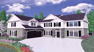 ranch style house plans l shaped youtube