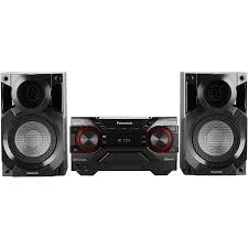 panasonic sc akx200 400 watt high power mini hi fi system black