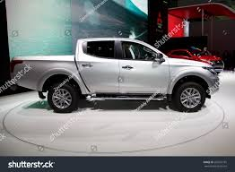 mitsubishi truck 2015 2015 mitsubishi l200 presented 85th international stock photo