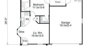 1 bedroom garage apartment floor plans single garage apartment plans svacuda me