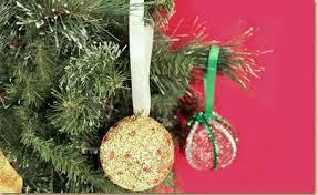 glittered foam ornaments craft project ideas