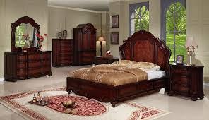 Elegant Bedroom Design Ideas With Wood Carving Bedroom Furniture