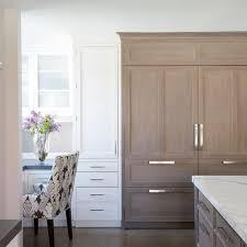 wire brushed white oak kitchen cabinets wirebrushed oak sz panels overset with adjacent white inset