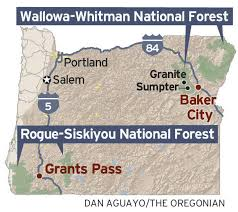 map of oregon gold mines no gold on oregon s federal lands even with record prices