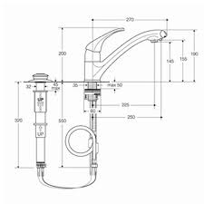 Standard Clear Tap Kitchen Sink Mixer Single Lever AAA Spare Parts - Parts of the kitchen sink
