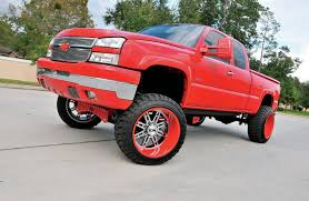 Classic Chevy Trucks Lifted - 17 incredibly cool red trucks you u0027d love to own photos