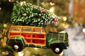 vintage automobile ornament exclusively